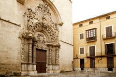church of Montesion Monti Sion in Majorca at Palma - stock photo