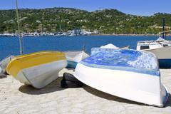 Andratx port marina in Mallorca balearic islands - stock photo