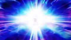 Shafts of blue light flicker, shimmer and shine - Light FX2093 HD, 4K - stock footage