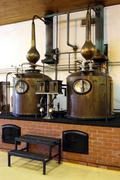 Brandy Copper Potstills Stock Photos