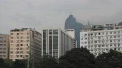 Rio de Janeiro, Brazil. Botafogo beach, Guanabara Bay Stock Footage
