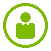 Client icon Stock Illustration