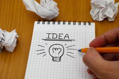 Brainstorm - stock photo