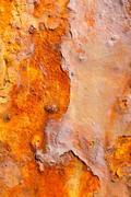 Stock Photo of aged rusty iron texture grunge background