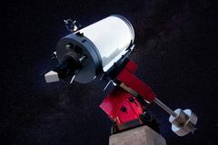 Astronomical observatory telescope stars night Stock Photos