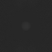Simple centralized geometric mesh black white background Stock Illustration