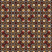 Abstract mosaic brown wallpaper Stock Illustration