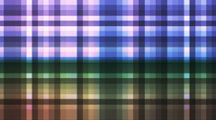 Broadcast Twinkling Hi-Tech Strips, Multi Color, Abstract, Loopable, HD Stock Footage