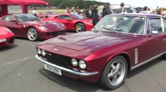 Jensen Interceptor Stock Footage