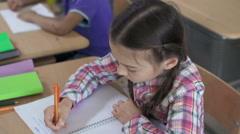 Smart Pupil - stock footage