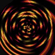 circling streaks around the circumference of an imaginary sphere - stock illustration