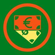 Banknotes icon - stock illustration