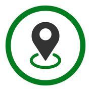Geo Targeting icon - stock illustration