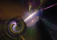 Stock Illustration of Fractal 38 Multi Color
