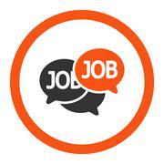 Stock Illustration of Labor Market icon