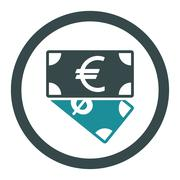Banknotes icon - stock illustration