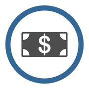 Banknote icon Stock Illustration
