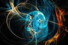 Abstract fractal image. Stock Illustration