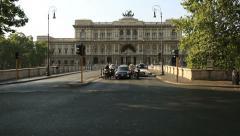 Supreme Court of Cassation Stock Footage