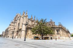 The Seville Cathedral Stock Photos