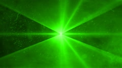 Laser Show Green Stock Footage