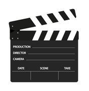 Film flap Stock Illustration