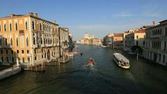 Stock Video Footage of Time Lapse Grand Canal (Canale Grande)