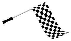 Racing Flag Piirros