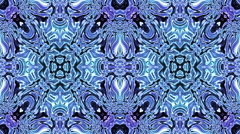 Kaleidoscopic generated seamless loop Stock Footage