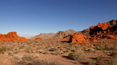 Valley of Fire National Park, Nevada . Stock Footage