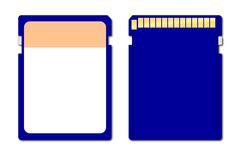 Memory Chip - stock illustration