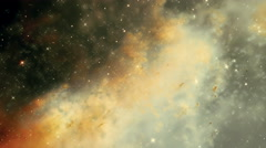 Traveling through a galaxy in deep space - Galaxy 015 HD, 4K Stock Footage
