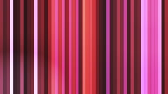 Broadcast Twinkling Vertical Hi-Tech Bars, Multi Color, Abstract, Loopable, HD Stock Footage
