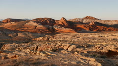 Valley of Fire, Nevada . Stock Footage