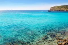 Stock Photo of Ibiza cala Conta Conmte in San Antonio