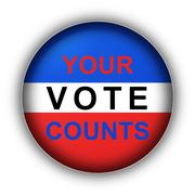 Your Vote Counts - stock illustration