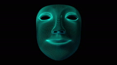 Mask. Looping. Alpha channel. Stock Footage