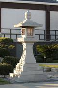 Japanese Stone Pagoda Stock Photos