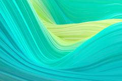 Abstract wavy background - stock illustration