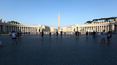Dolly Shot Vatican City View Stock Footage