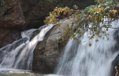 Waterfall Mae Sa in Thailand   Stock Photos