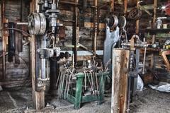 Blacksmith Tools - stock photo