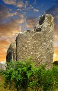 Carnac,Brittany, France Stock Photos