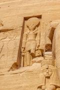 Horus Abu Simbel Stock Photos