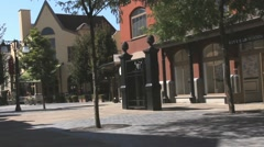 Maasmechelen Village Outlet Shopping Complex In One Of The Small Towns Stock Footage