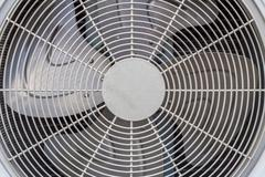 Close-up shot of air conditioner ventilation fan. Stock Photos