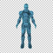 Ironman Alpha Channel Stock Footage