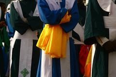 Religious feast of Meskal in Ethiopia Africa - stock photo