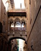 Stock Photo of Barcelona Palau generalitat in gothic Barrio