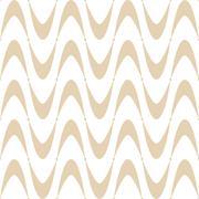 Seamless Wave Pattern - stock illustration